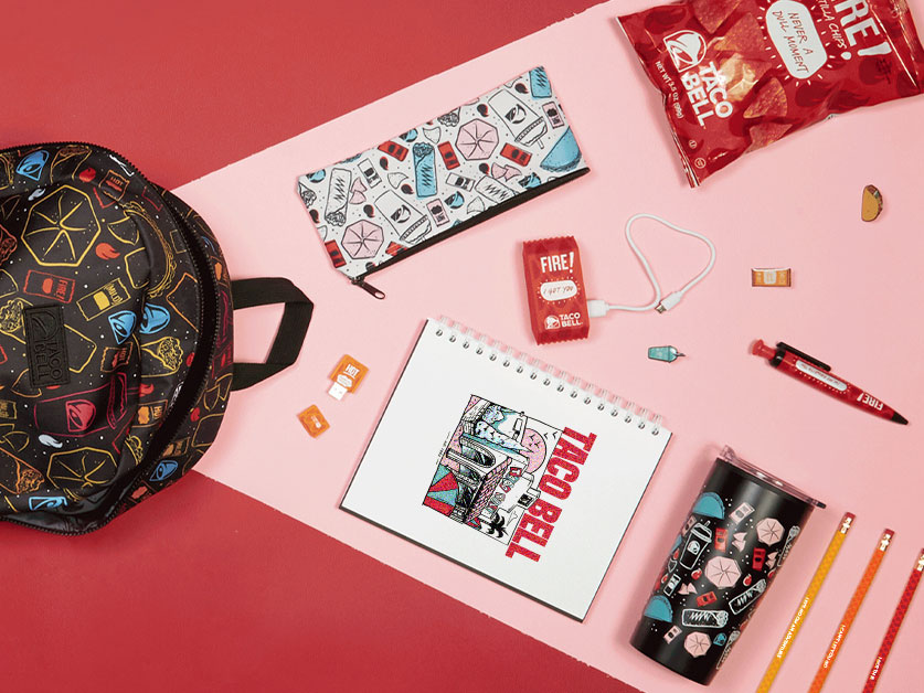 Taco Bell Unveils Back to School Collection