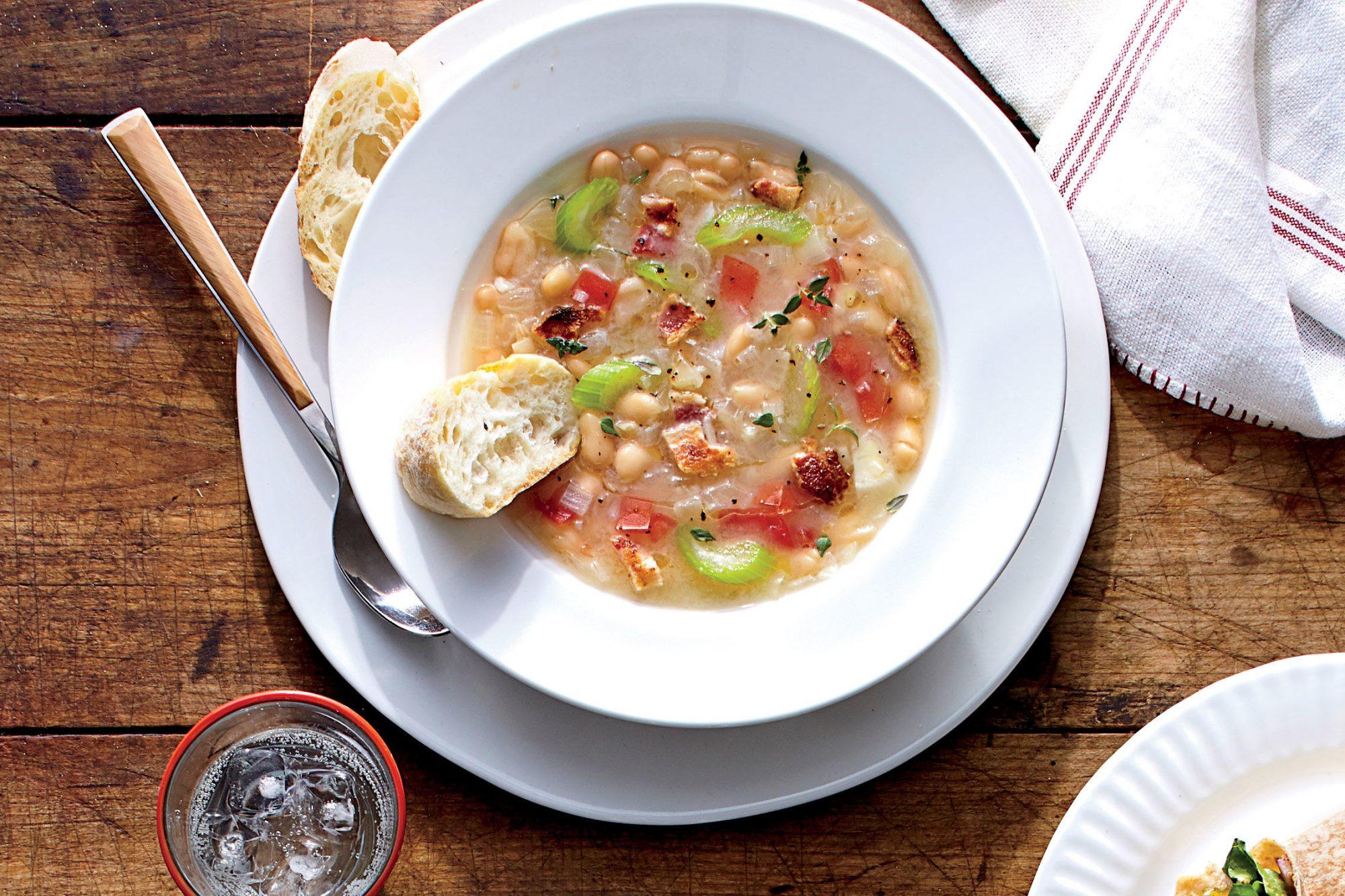 Smoky White Bean Soup Recipe