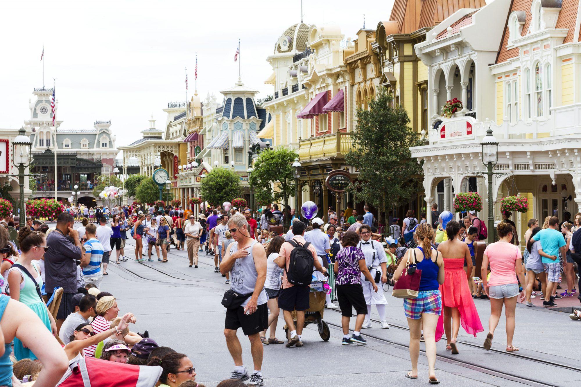 Disney World Main Street USA