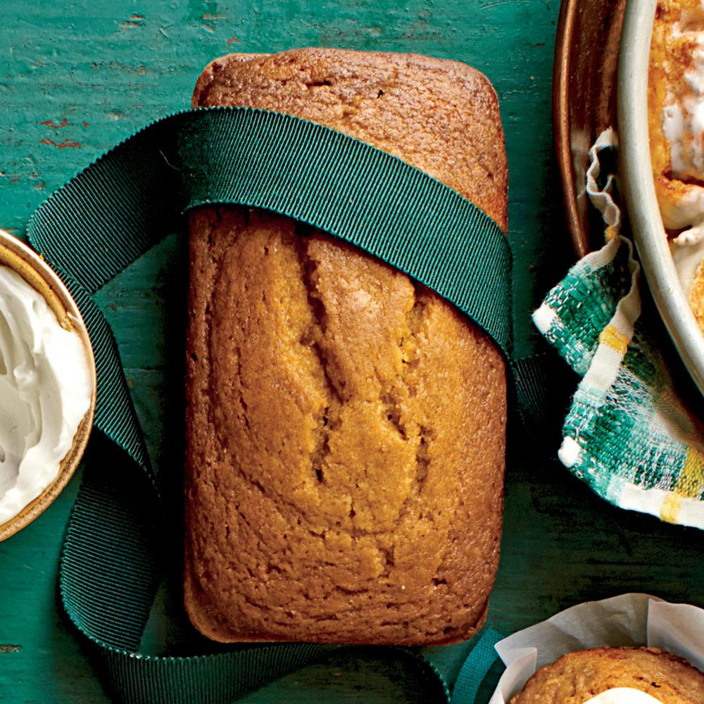 Pumpkin-Honey-Beer Bread