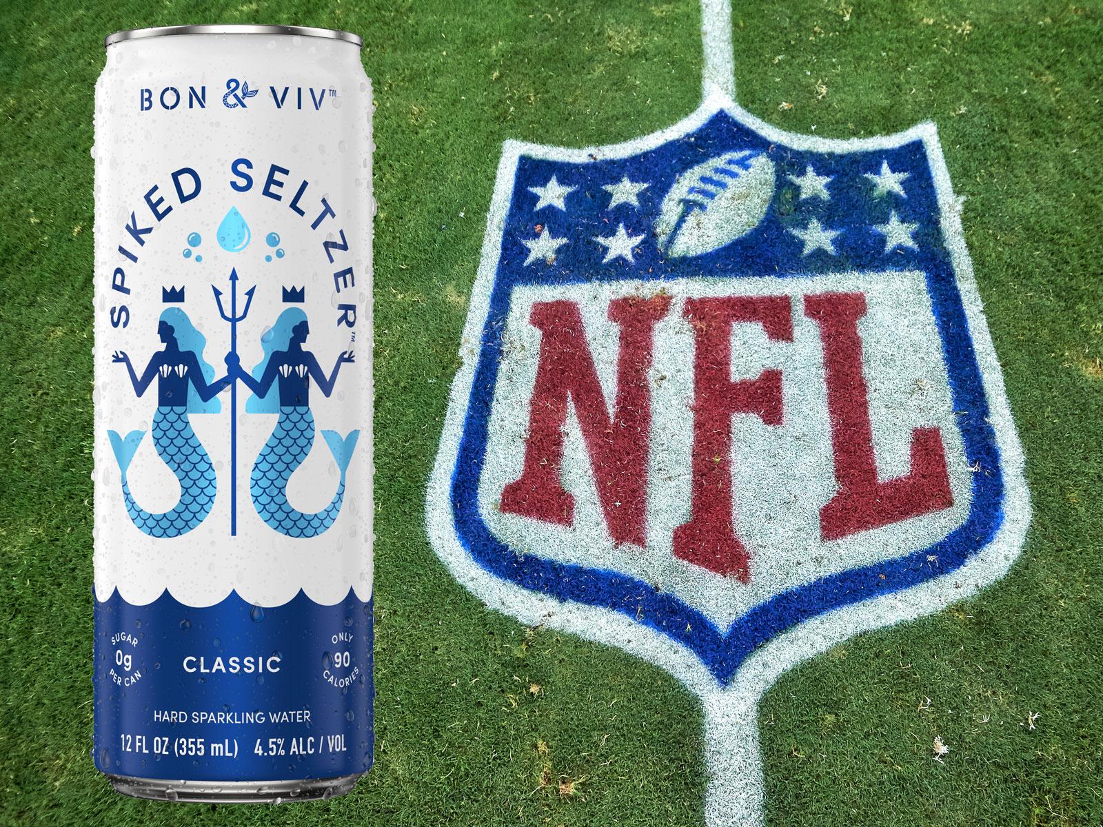 The NFL Has an 'Official Hard Seltzer'