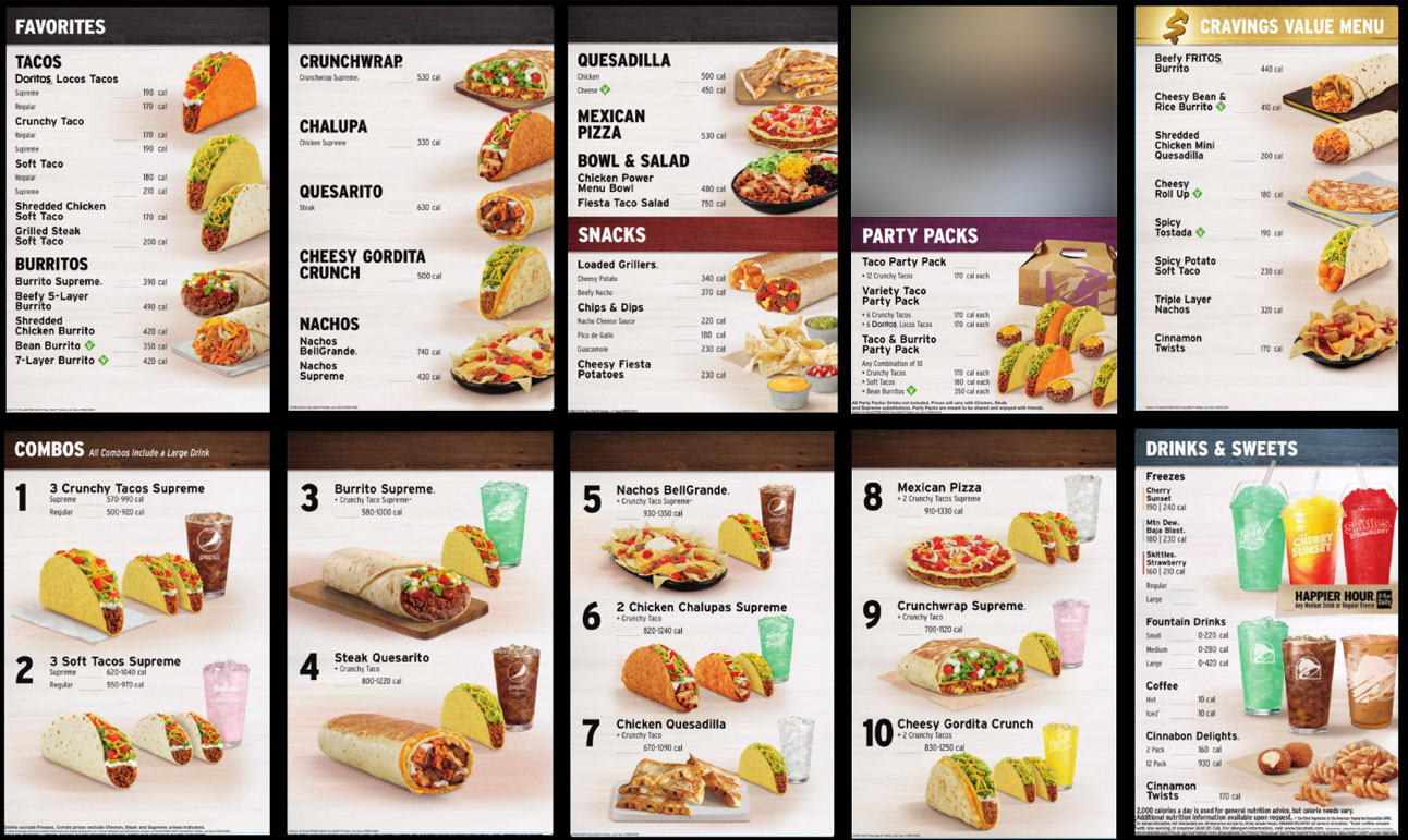 Taco Bell Will Ax Nine Items in Menu Revamp taco-bell-new-menu-FT-BLOG0819