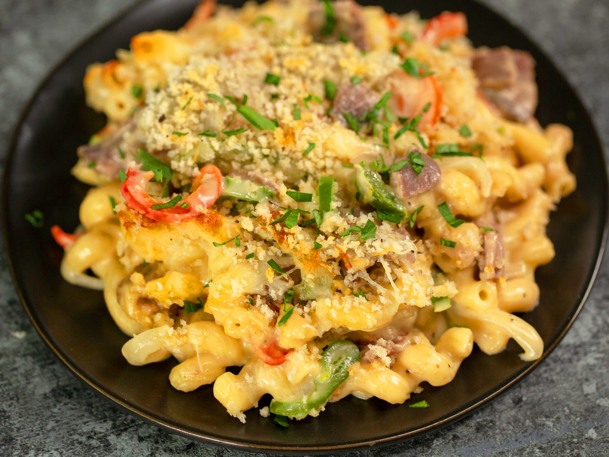 Philly Mac-And-Cheese Steak