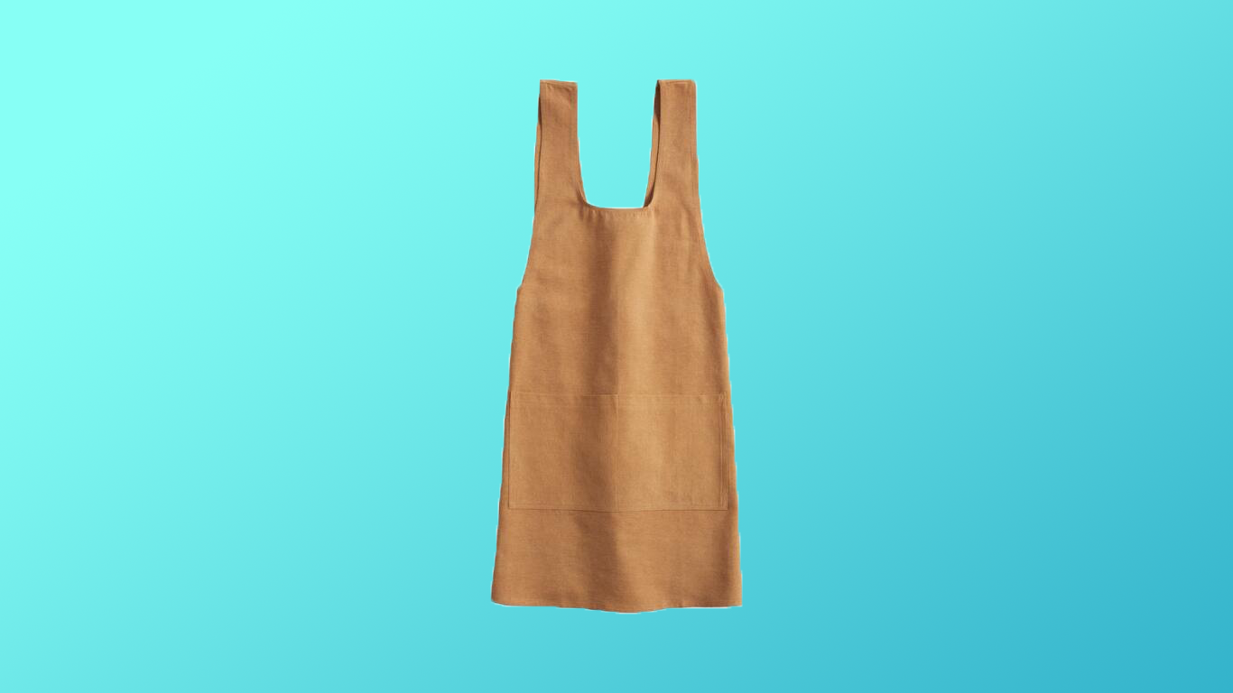 The Stylish, Deep-Pocketed Apron You'll Actually Want to Wear