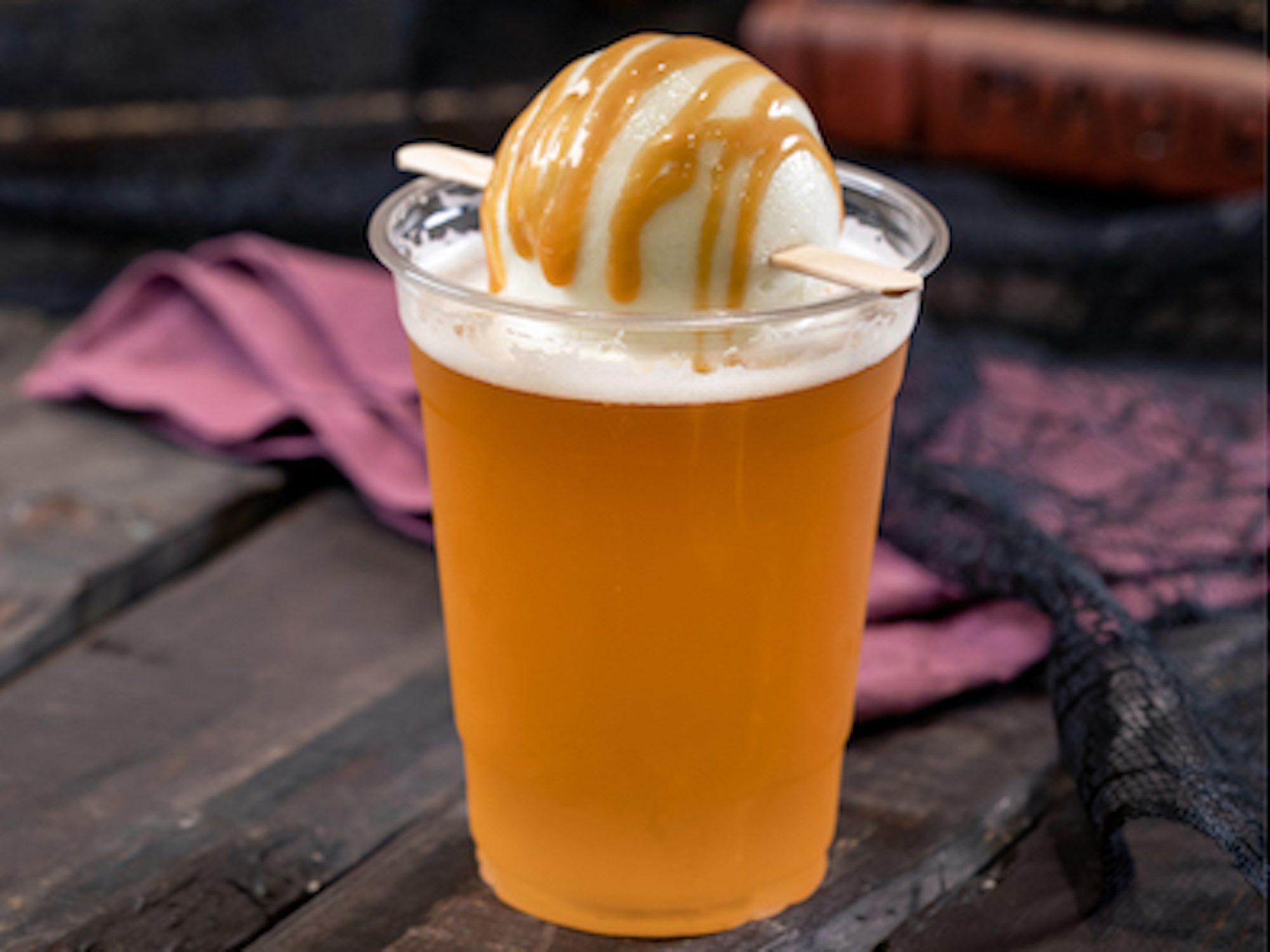 disney apple cider float