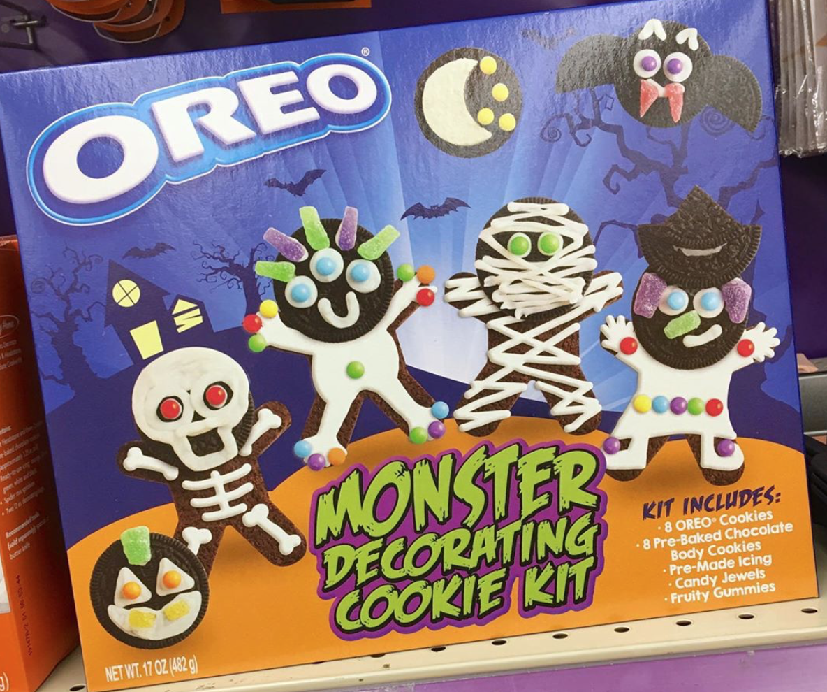 This Oreo Cookie Decorating Kit Is a Halloween Lover's Dream Come True