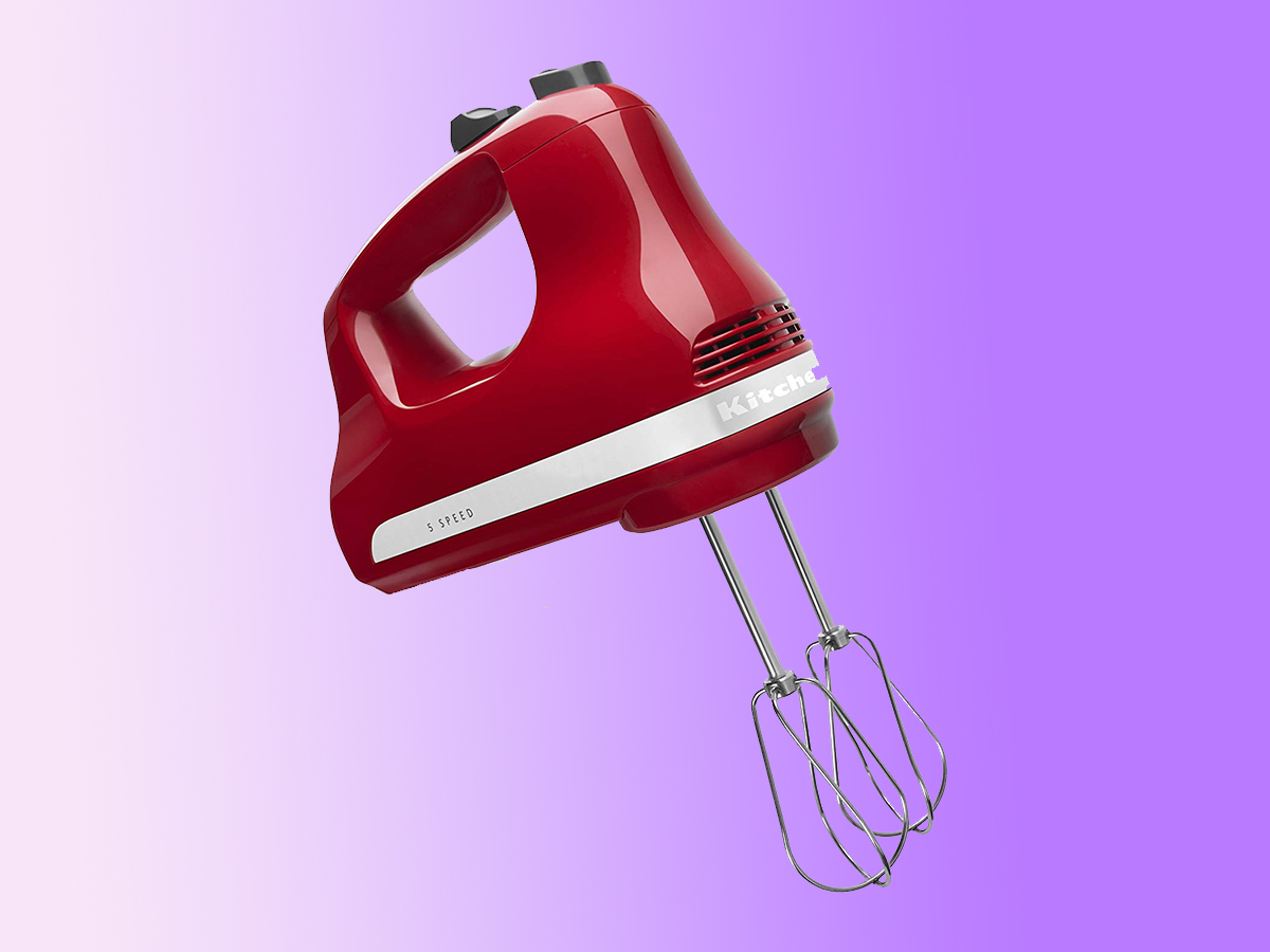 KitchenAid KHM512ER 5-Speed Ultra Power Hand Mixer