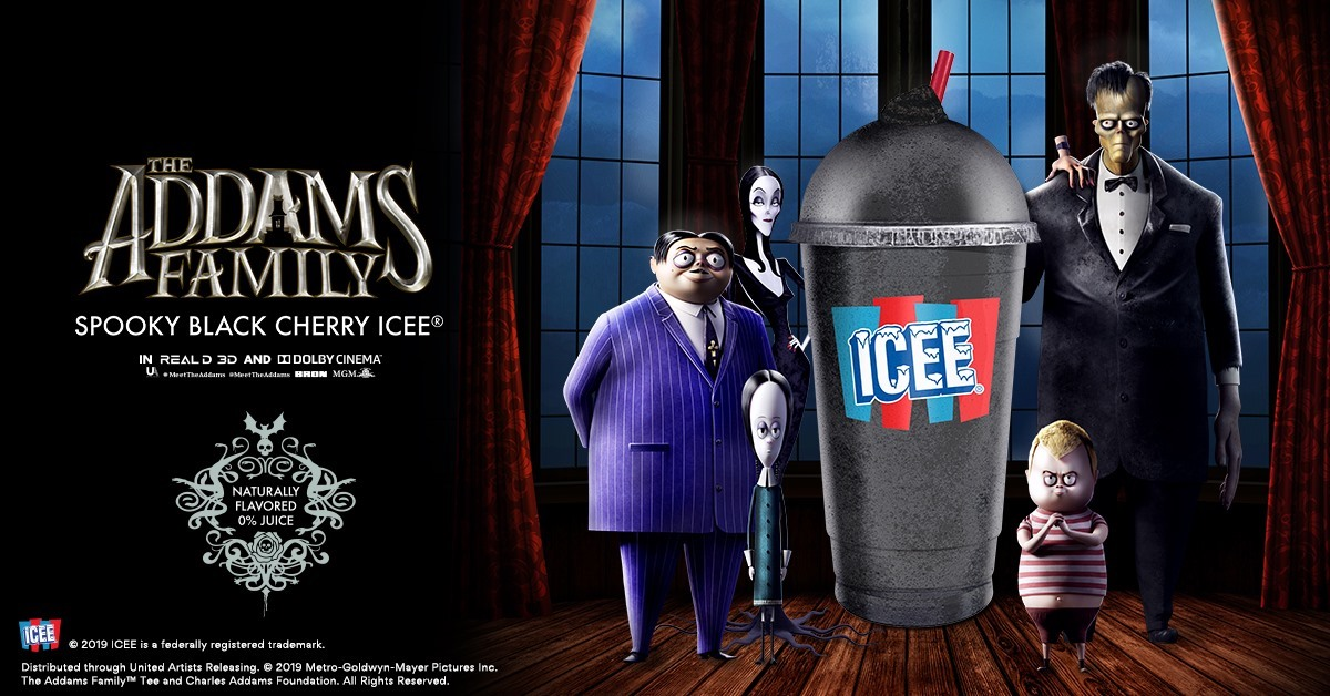 "AMC's Selling Black Cherry ICEEs for ""The Addams Family"" Remake"