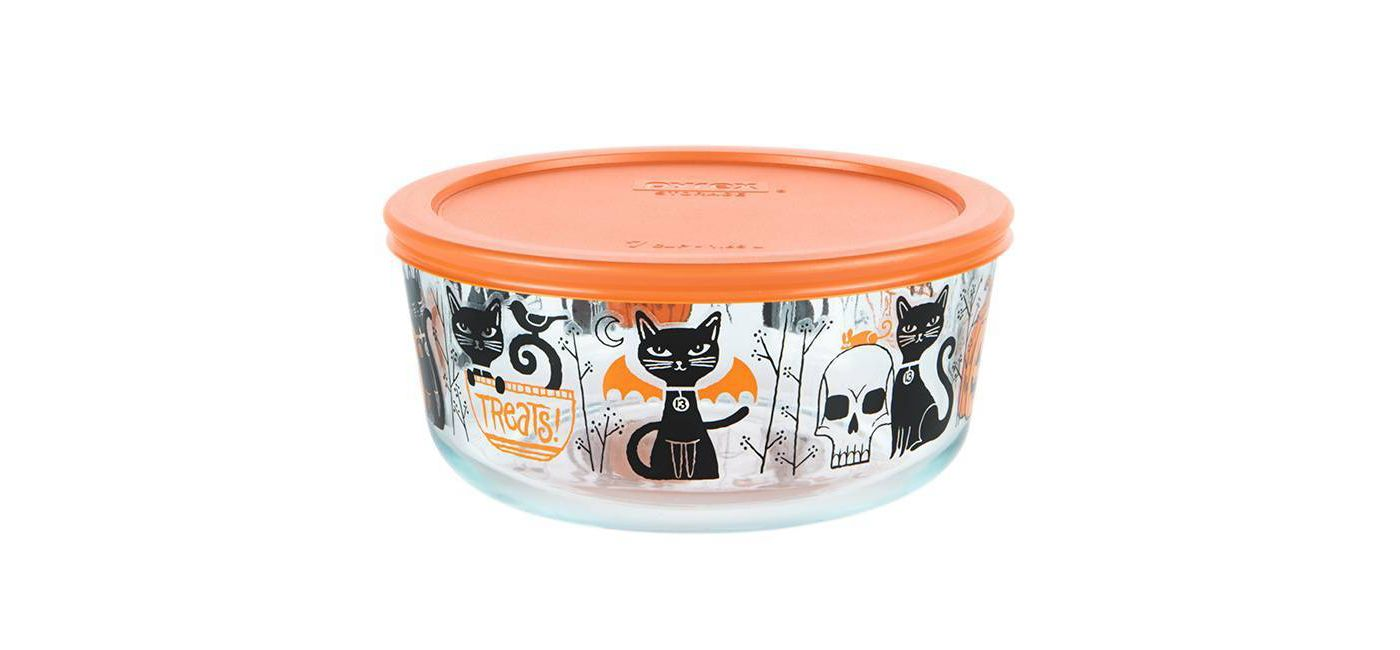 Cat Pyrex