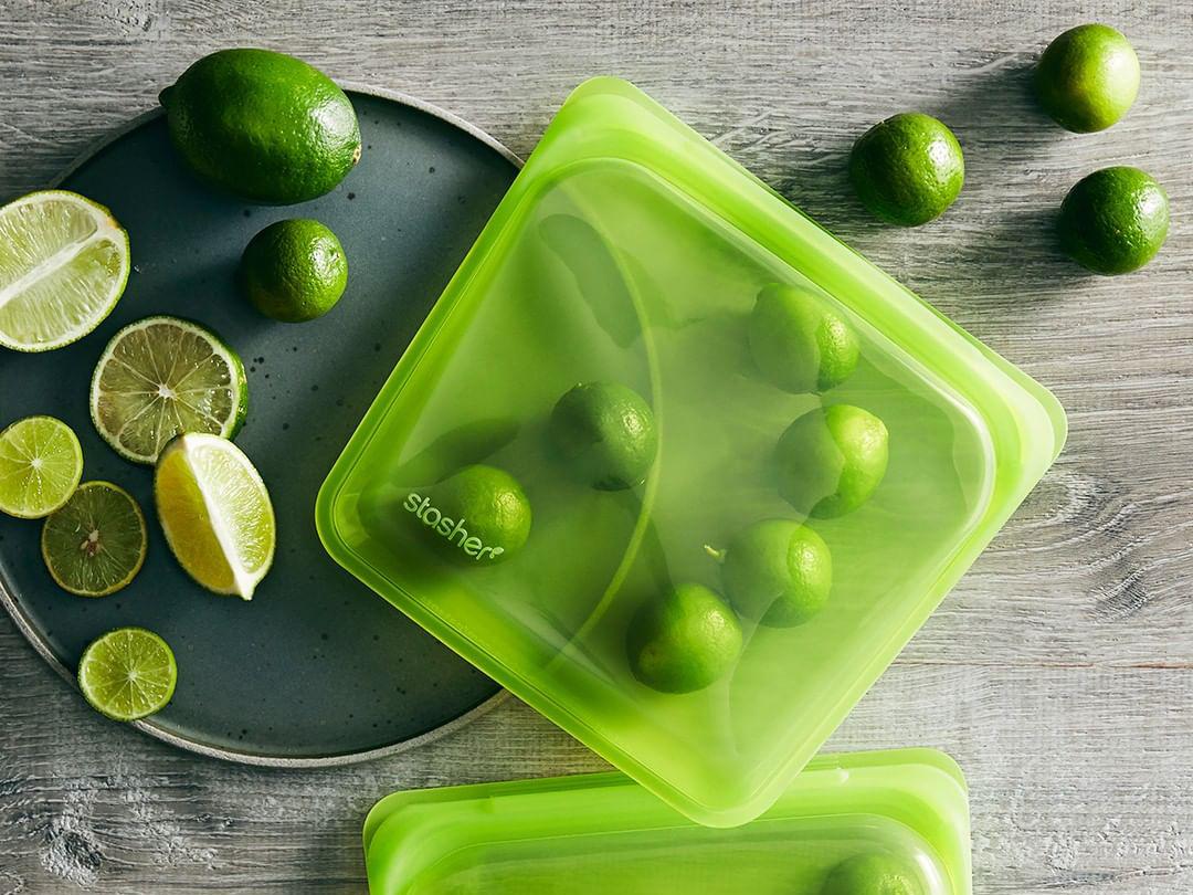Stasher 100% Silicone Reusable Food Bags