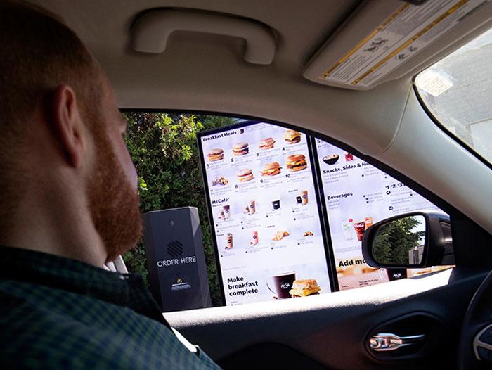 McDonald's Voice-Activated Drive-Thru