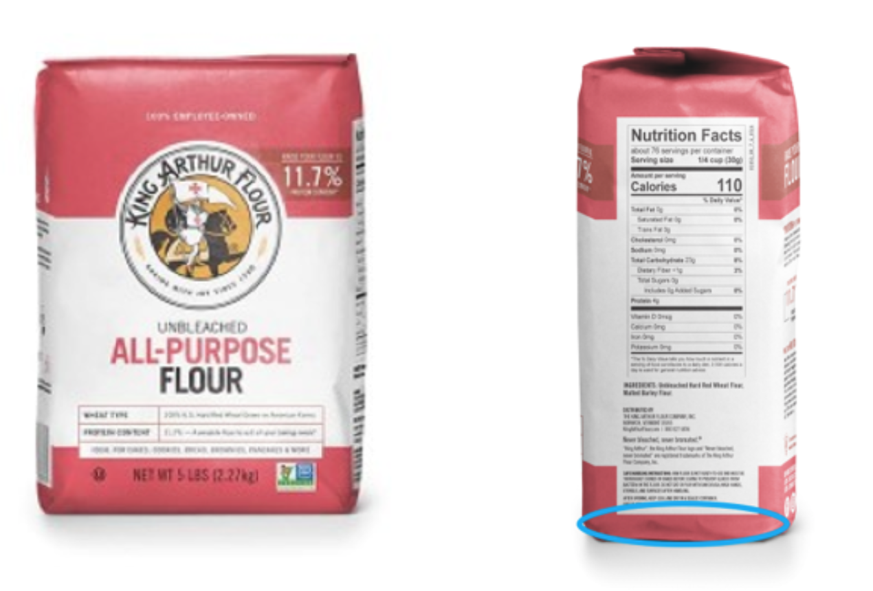 Flour recall KAF