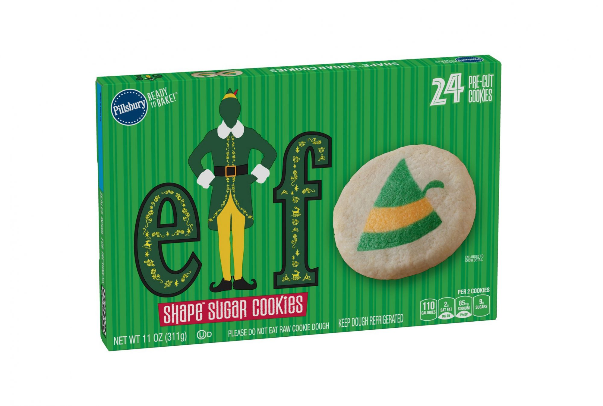 Buddy the Elf Cookies are Here to Save Christmas
