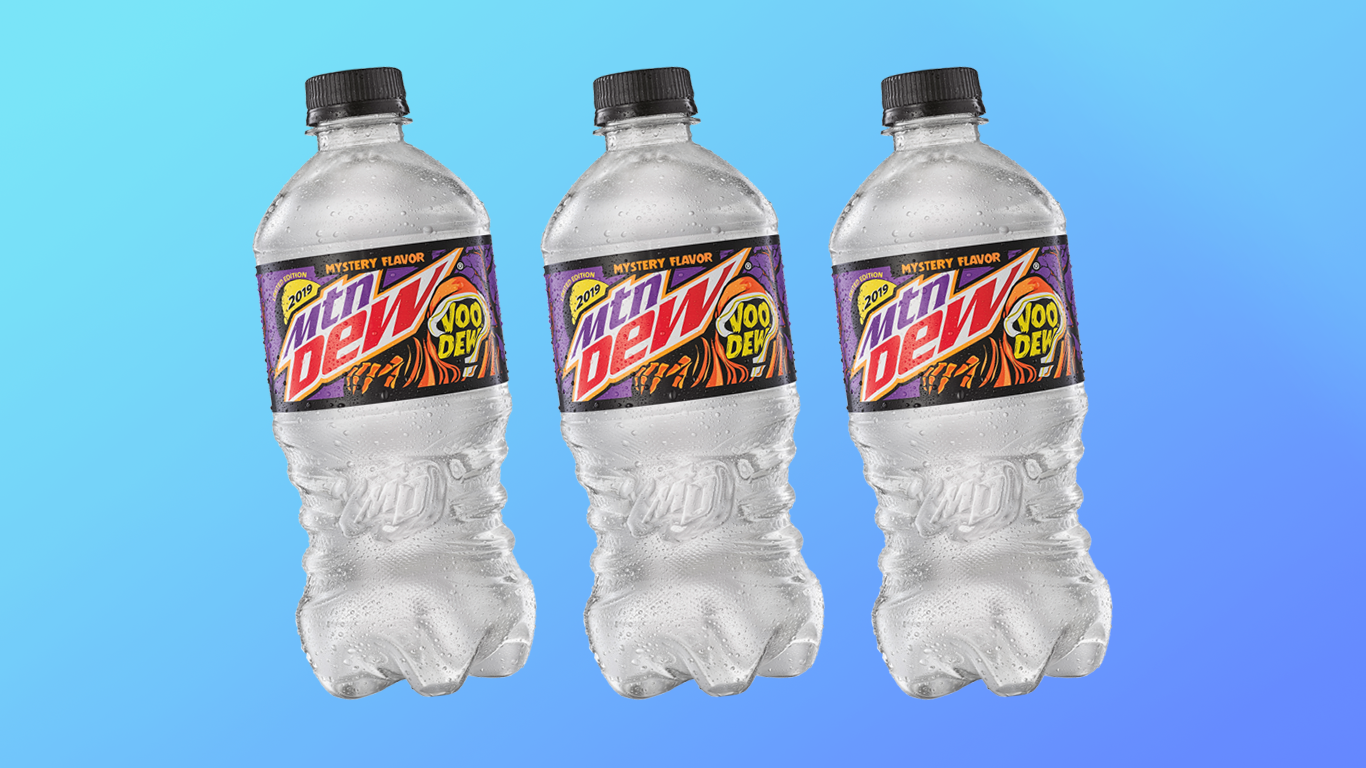 We Tried Mountain Dew's New Halloween VooDEW Mystery Flavor