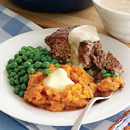 Beef-and-Mushroom Meatloaf Recipe