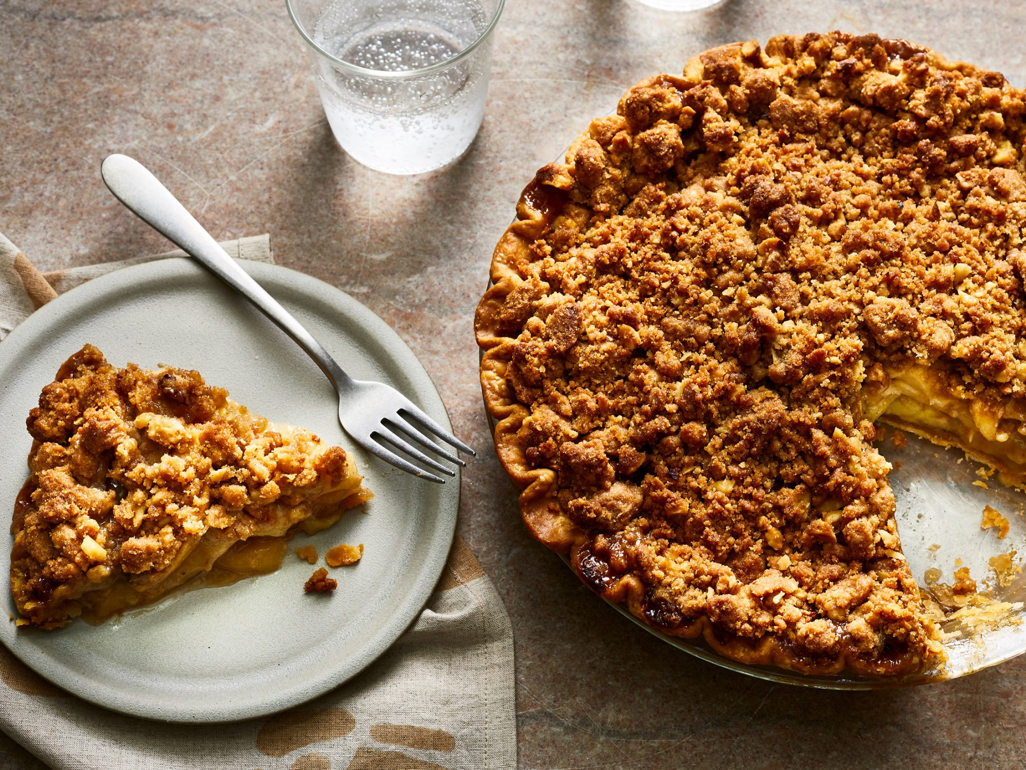 Green Chile Apple Pie image