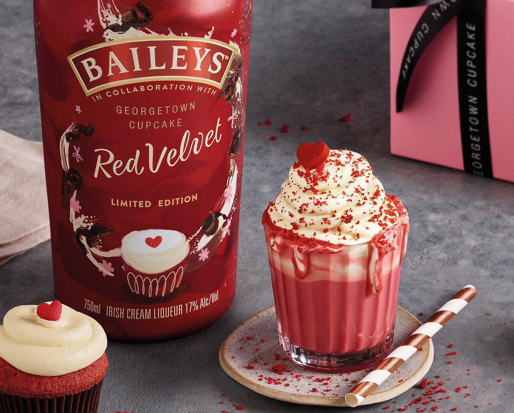 Baileys and Georgetown Cupcake Team up to Make Red Velvet Coffee Liqueur