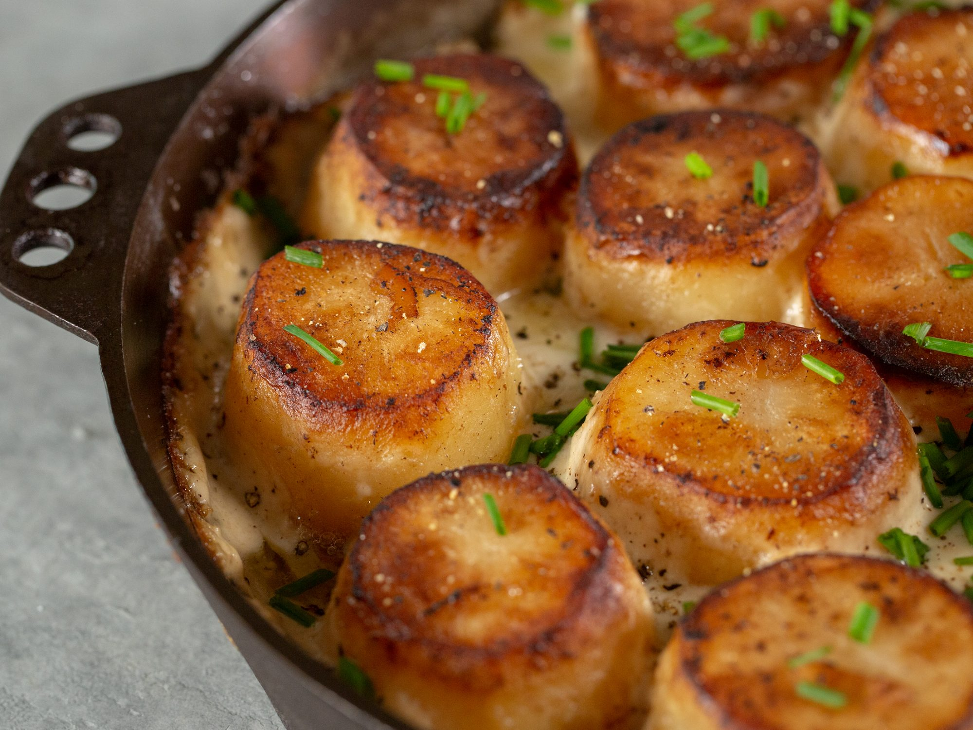 """Scallop"" Potatoes"