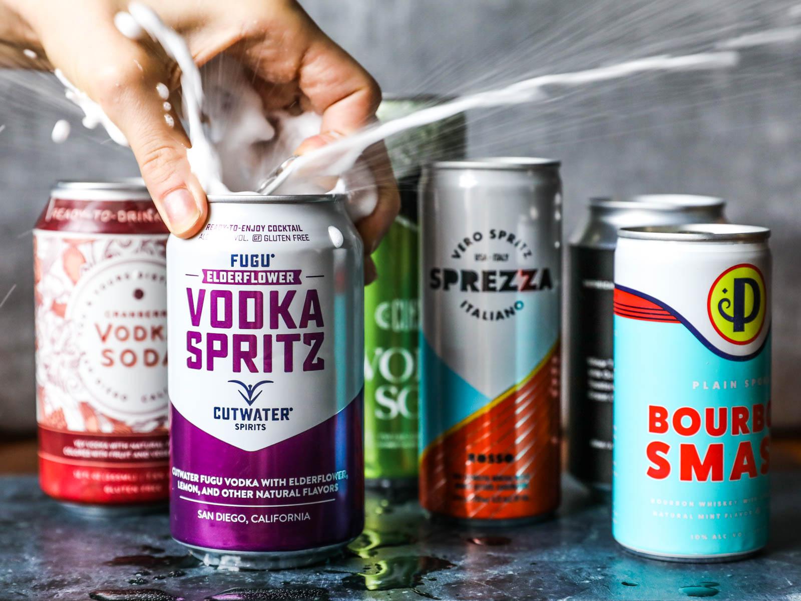 Canned Cocktail Taste Test