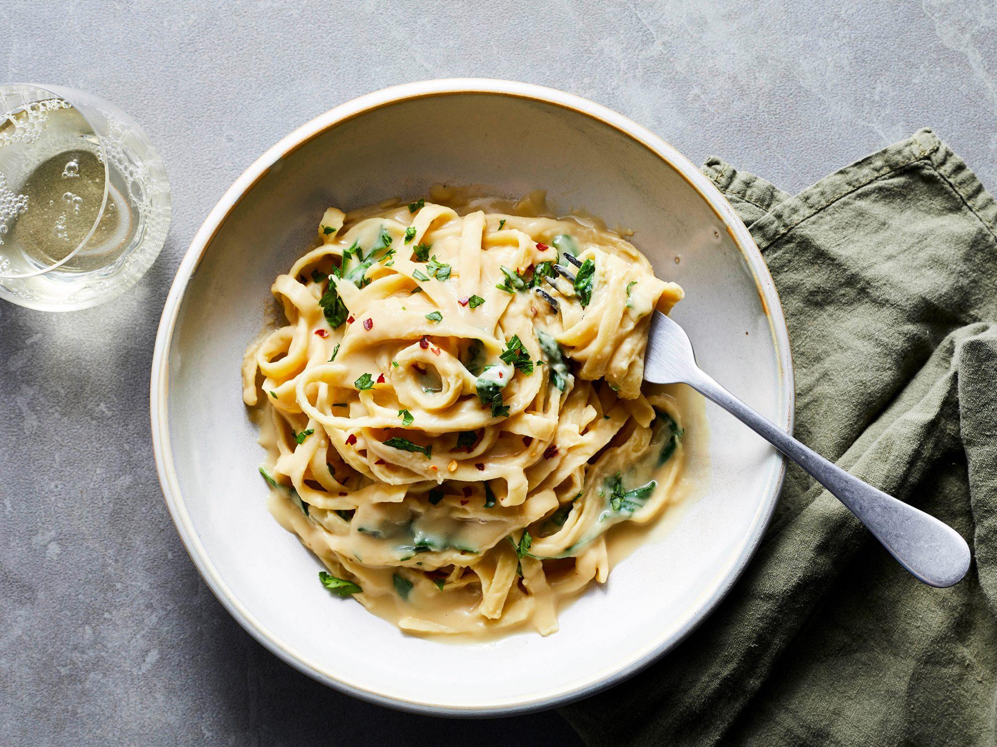 30 Creamy Pasta Recipes Myrecipes