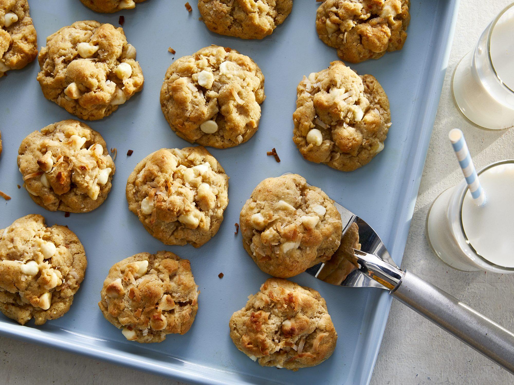 BrownButter-Coconut Cookies