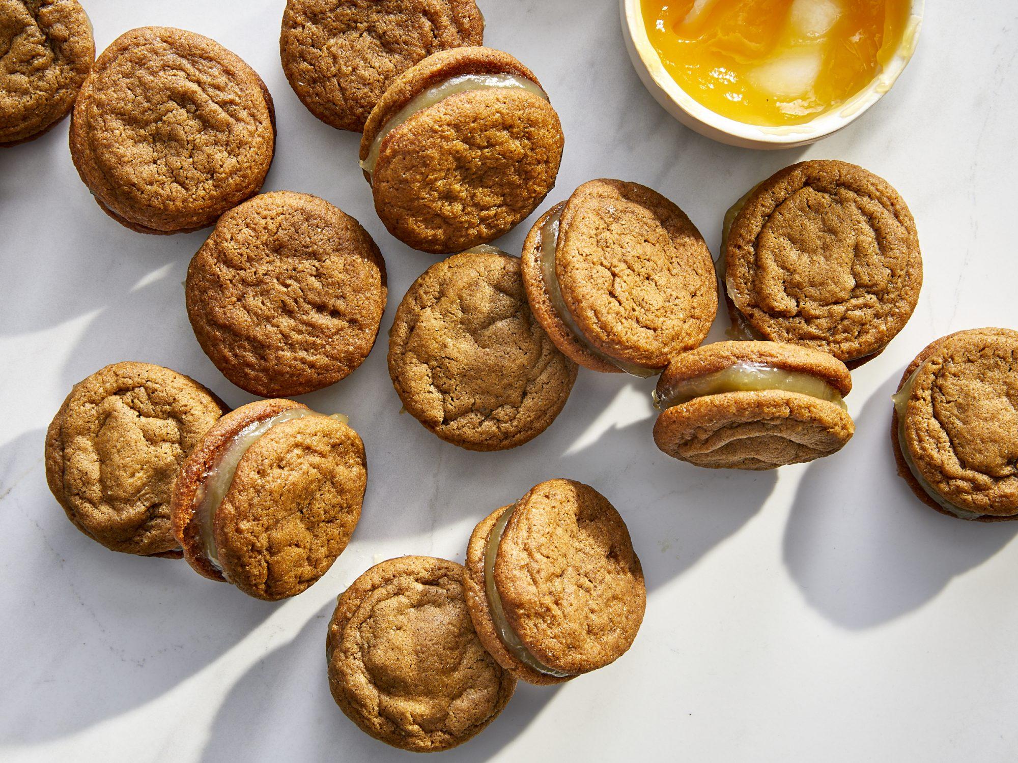 mr - Ginger-Lemon Sandwich Cookies Image