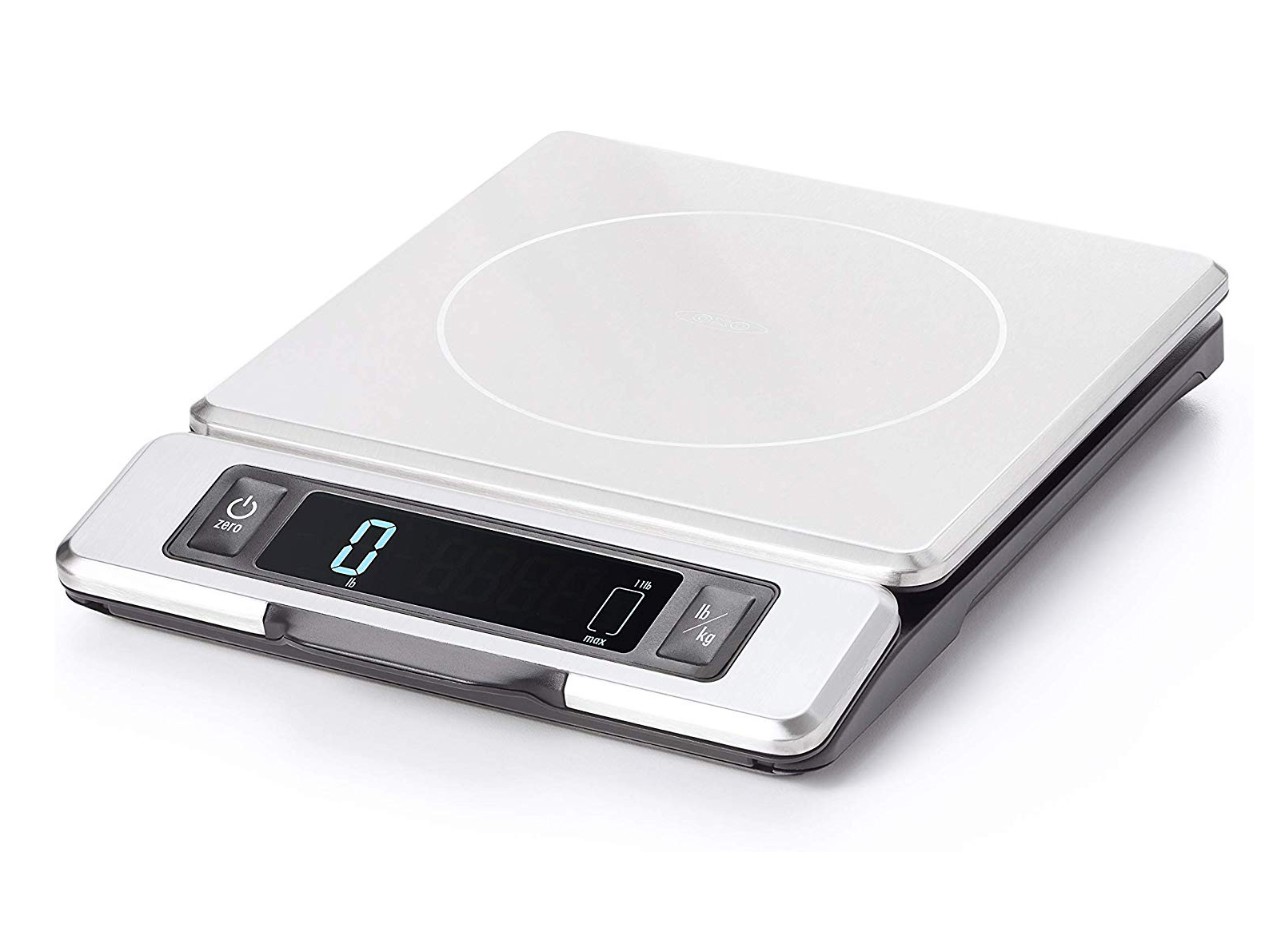 OXO Good Grips 11 Pound Stainless Steel Food Scale