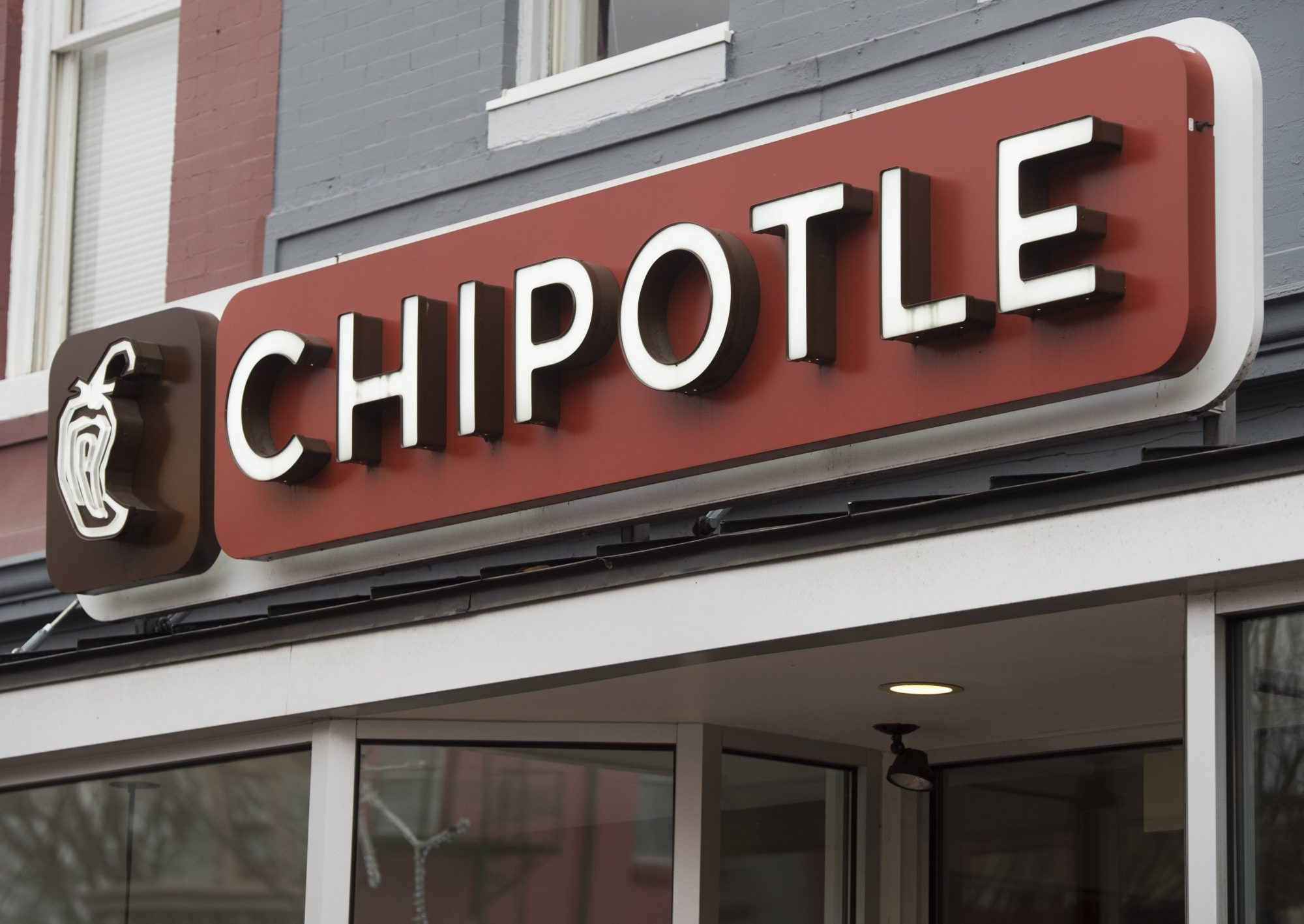 Chipotle Store Front Restaurant