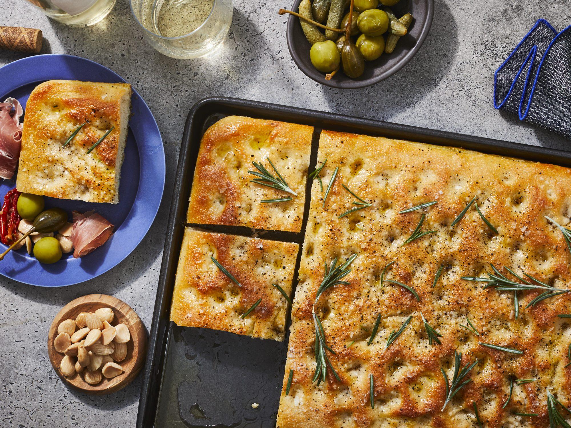mr - Classic Focaccia Bread Image
