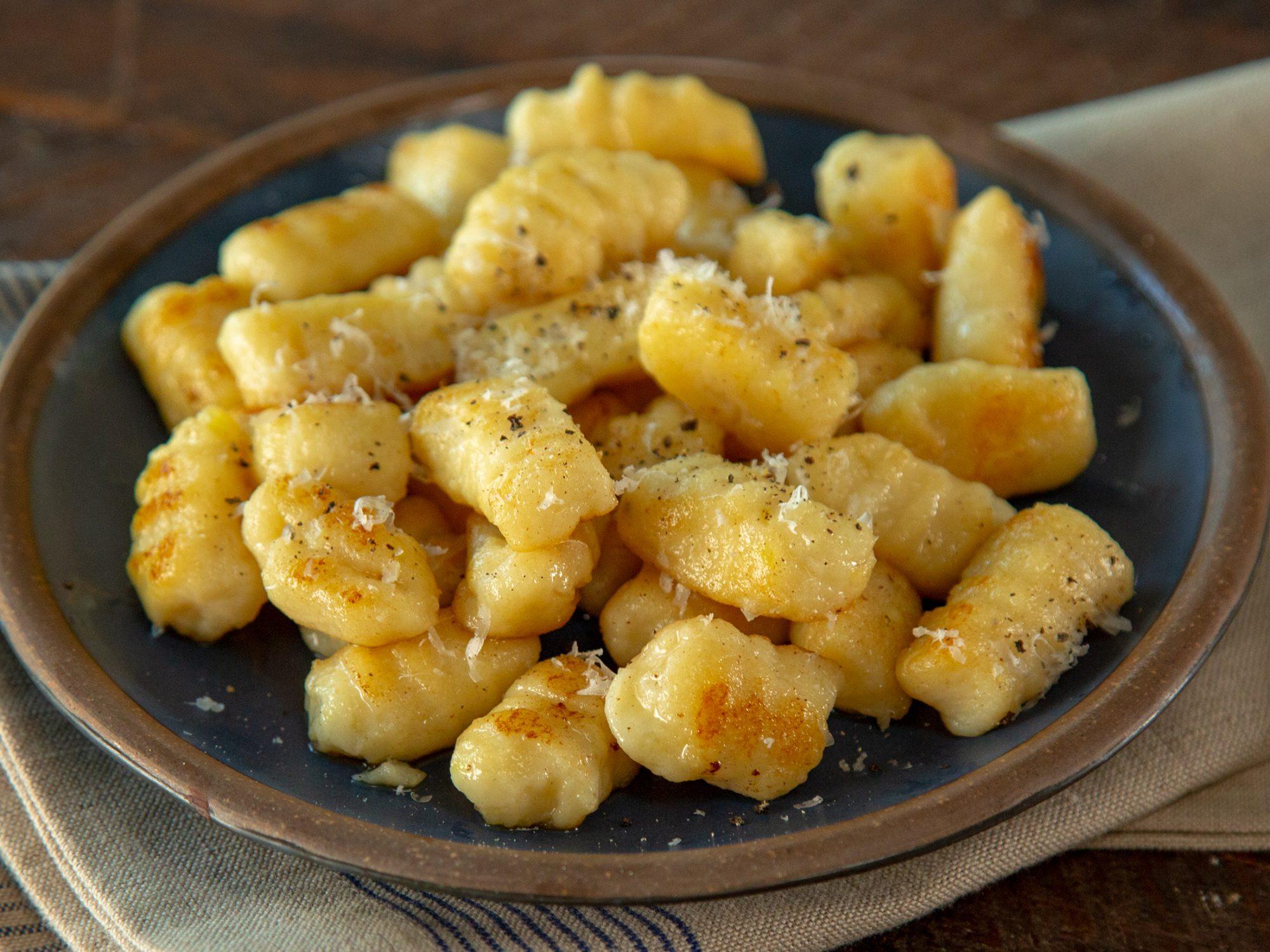 Leftover Mashed Potato Gnocchi image