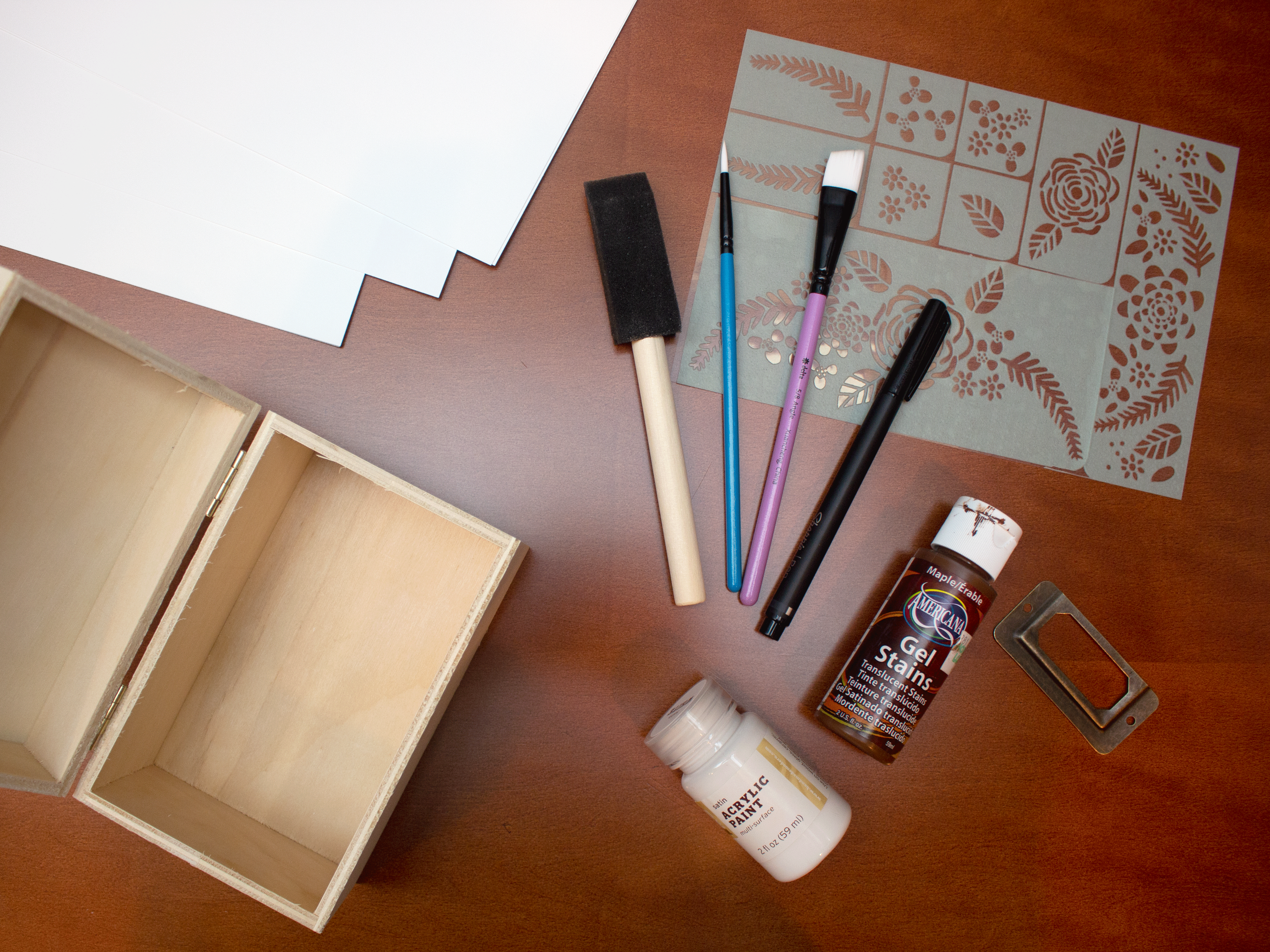 Recipe Box Supplies