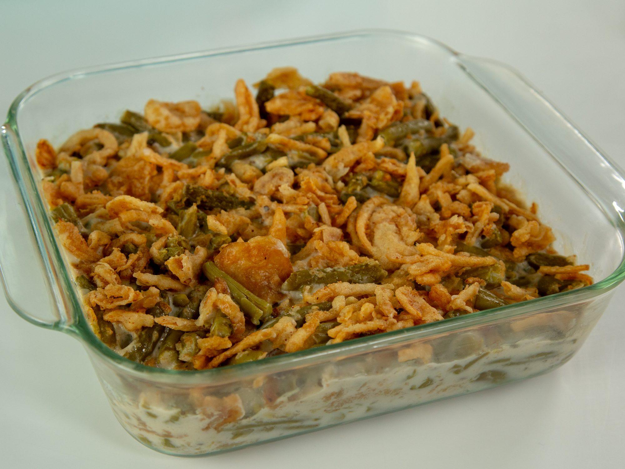 Microwave Green Bean Casserole image