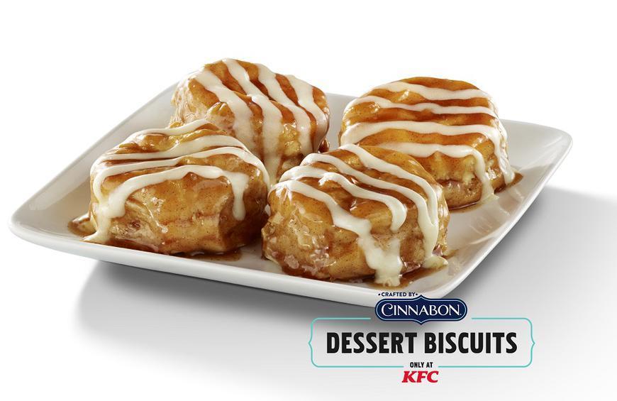 KFC and Cinnabon Bring Back Dessert Biscuits