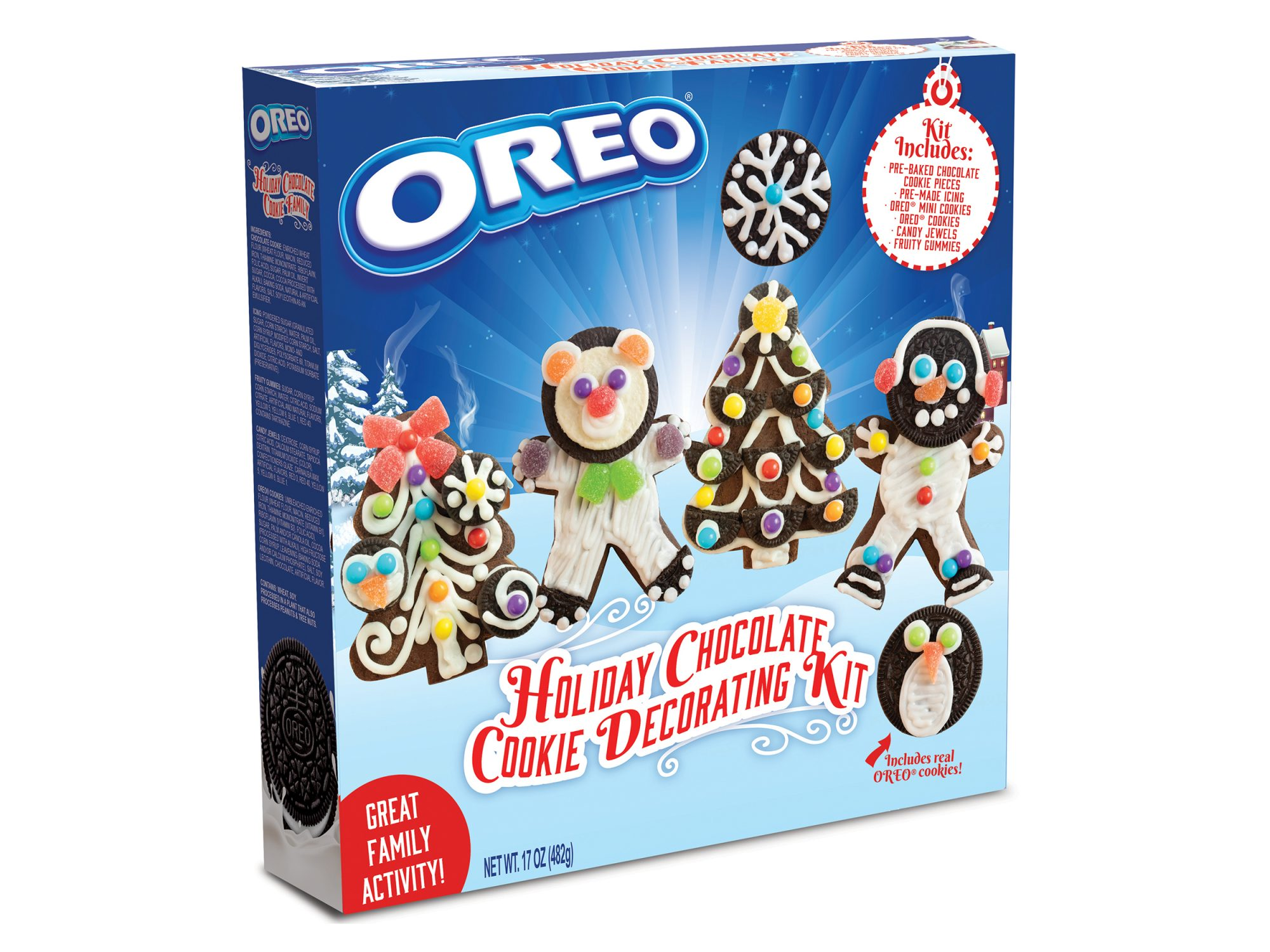 OREO Holiday Chocolate Cookie Decorating Kit