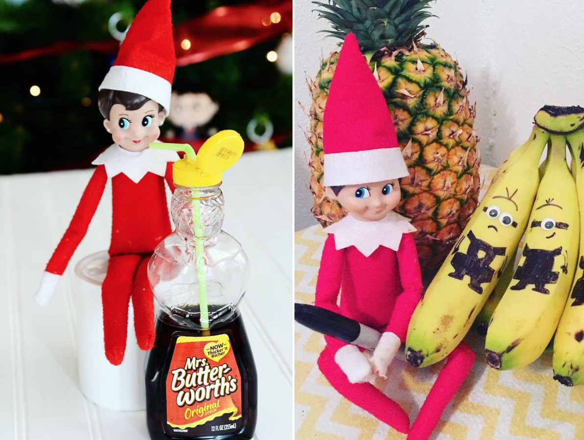 60+ Creative Elf on the Shelf Ideas (With Stuff You Already Have in Your Kitchen)