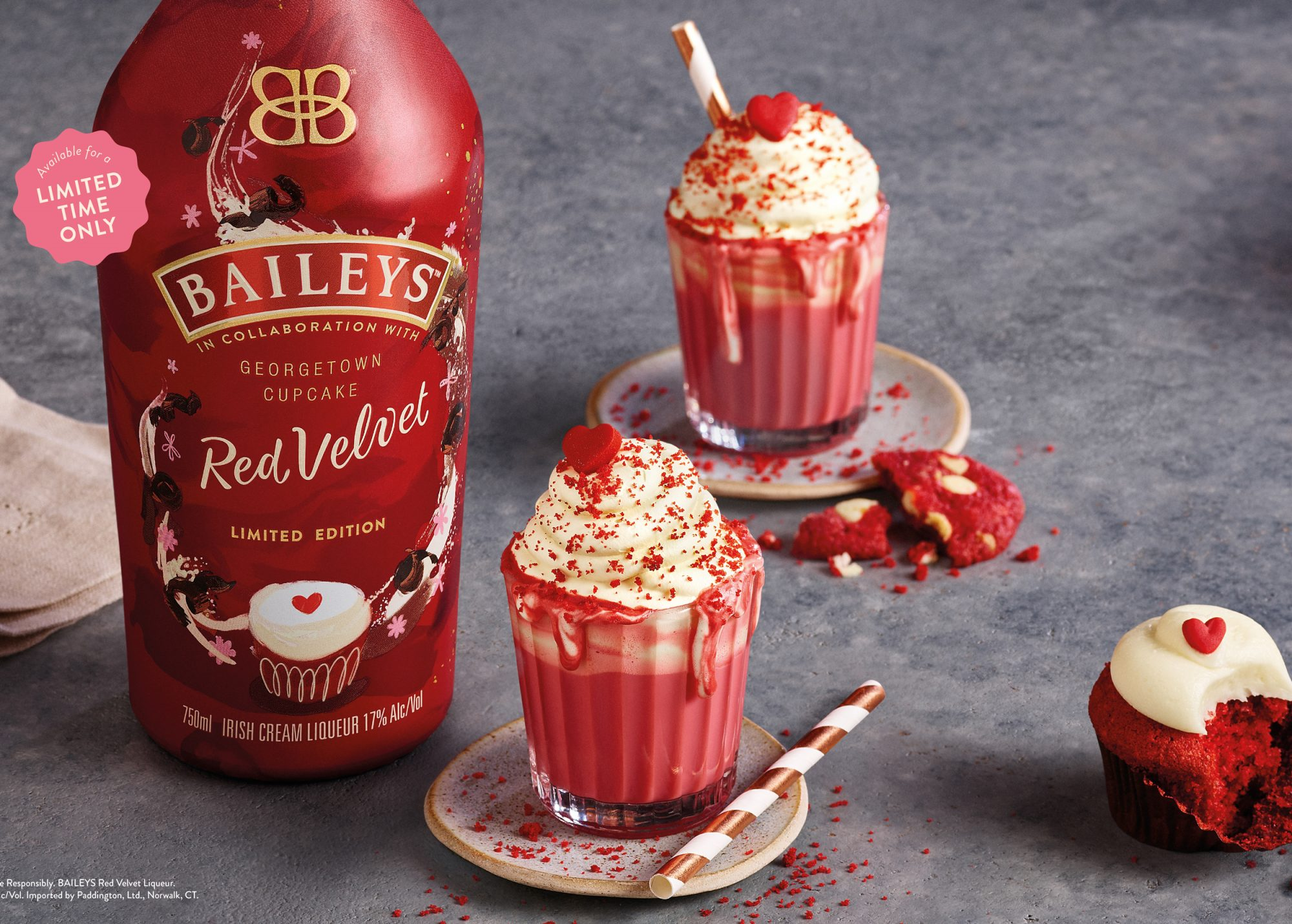 Bailey's Red Velvet Cupcake