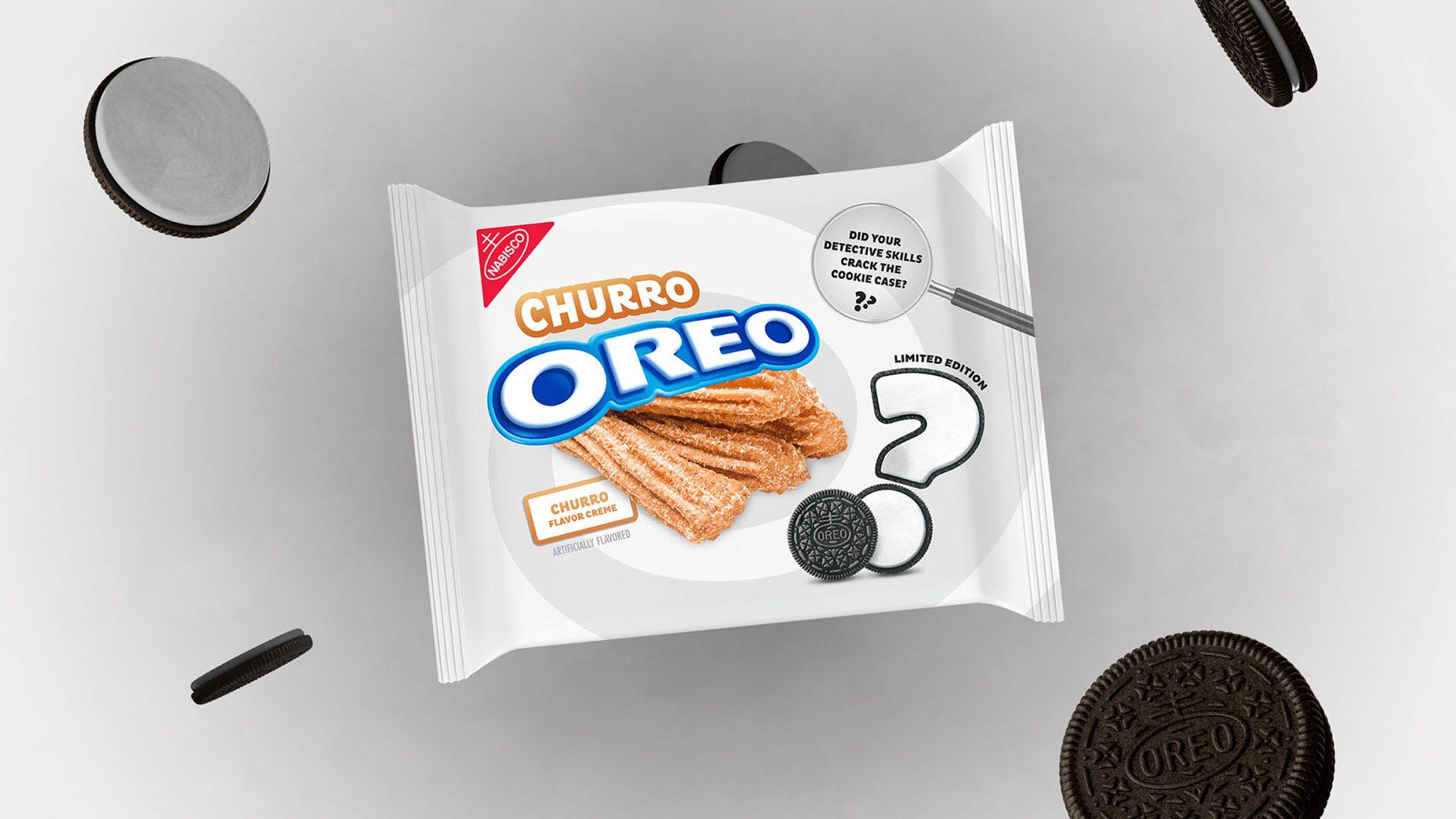 Oreo Mystery flavor churro