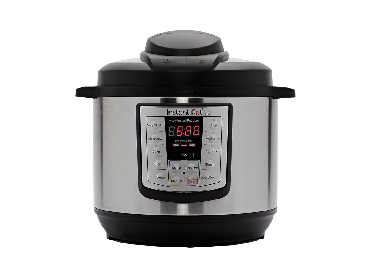 Instant Pot LUX60 V3 6 Qt 6-in-1 Multi-Use Programmable Pressure Cooker