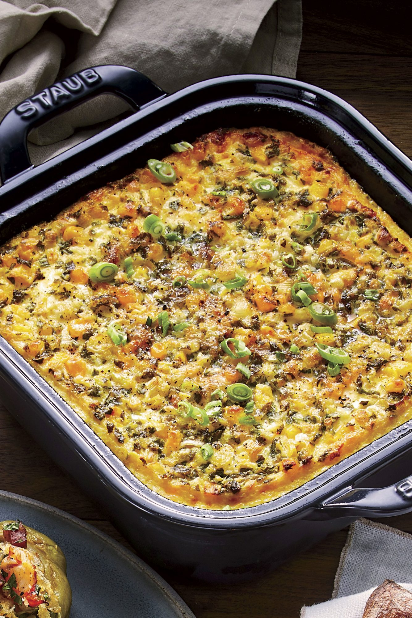 Fluffy Corn Pudding