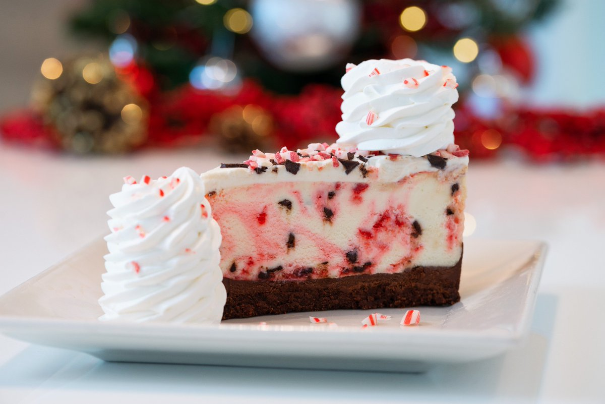 Peppermint Bark Cheesecake Brings Holiday Cheer to Cheesecake Factory