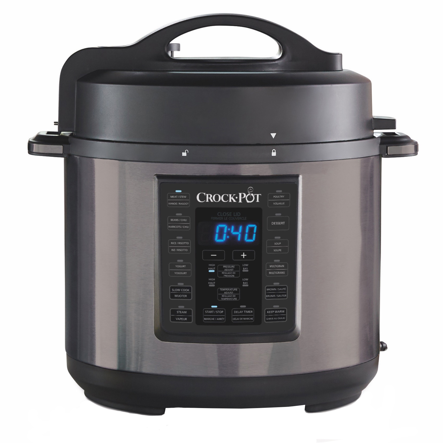crock pot slow cooker / pressure cooker product image
