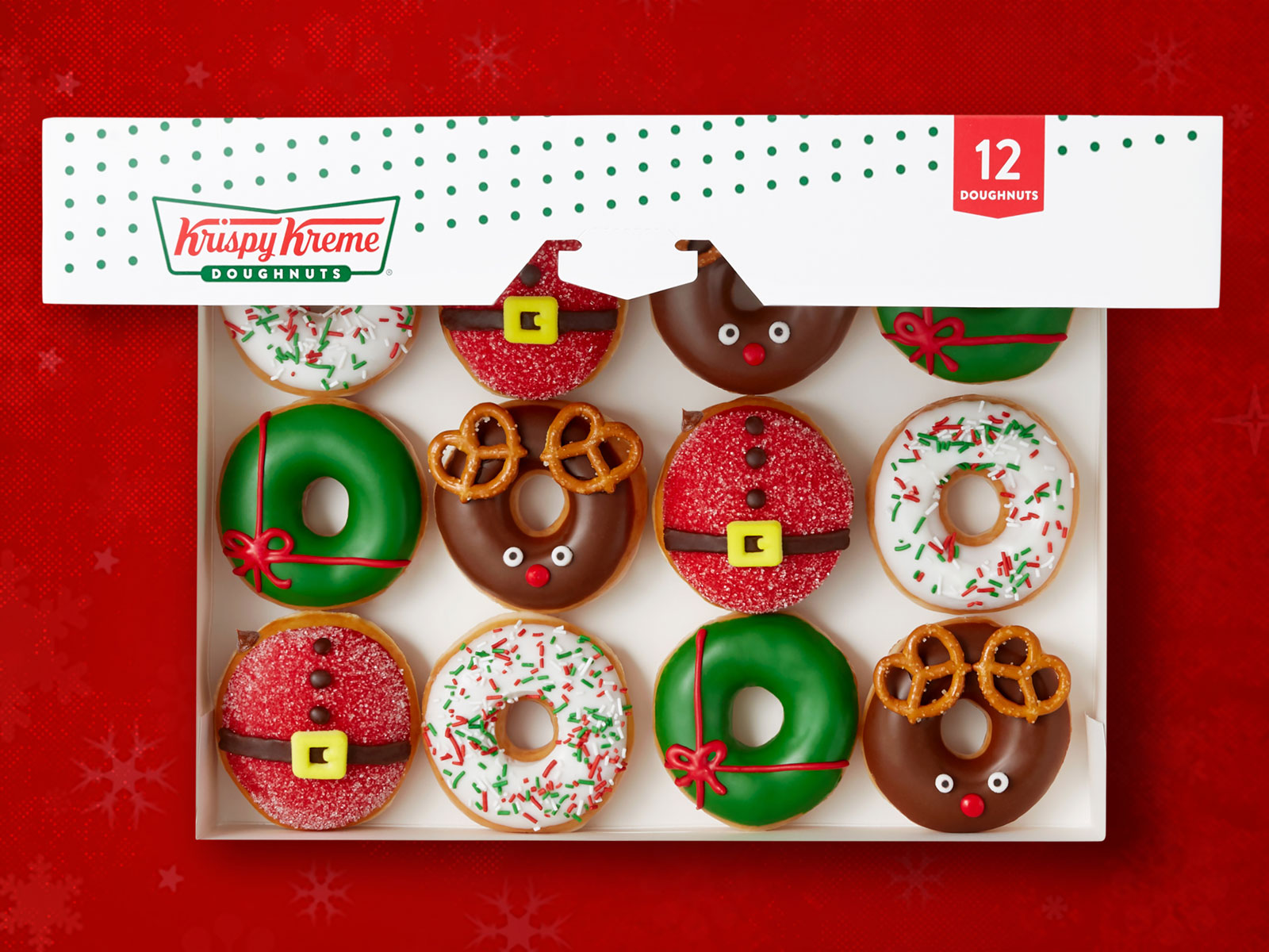 Get a Dozen Krispy Kreme Doughnuts for Just $1 This Week krispy-kreme-holiday-collection-FT-BLOG1219