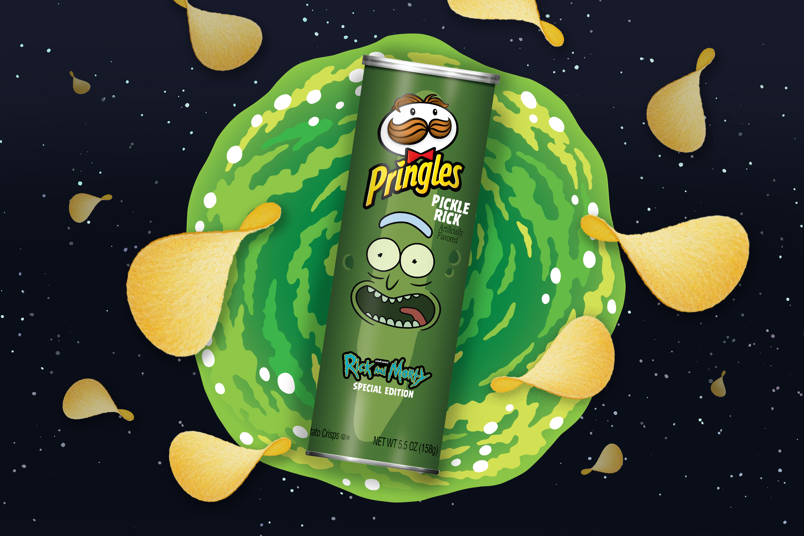 Pringles Is Bringing Back Pickle-Flavored Chips