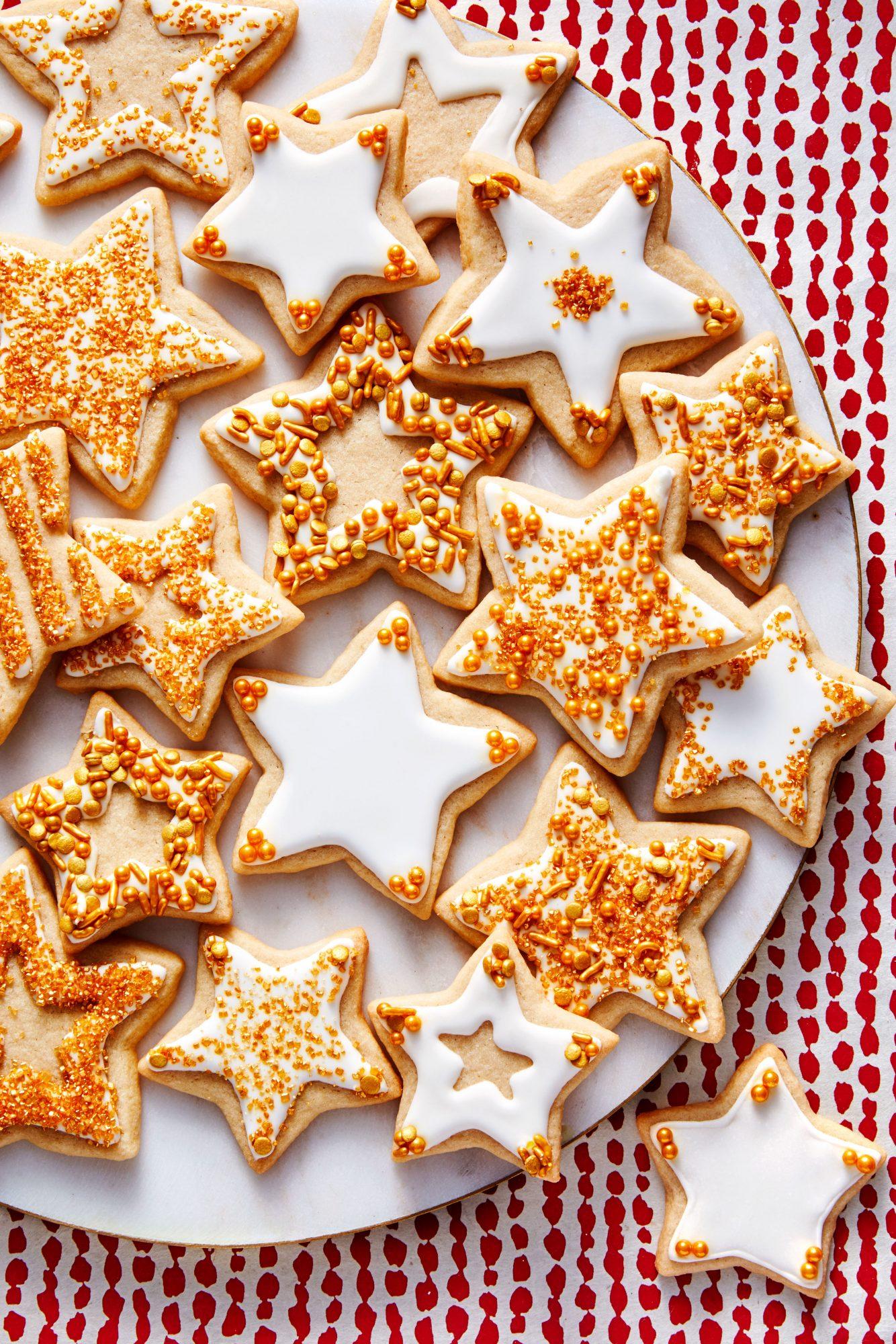 Brown Sugar Cookie Stars