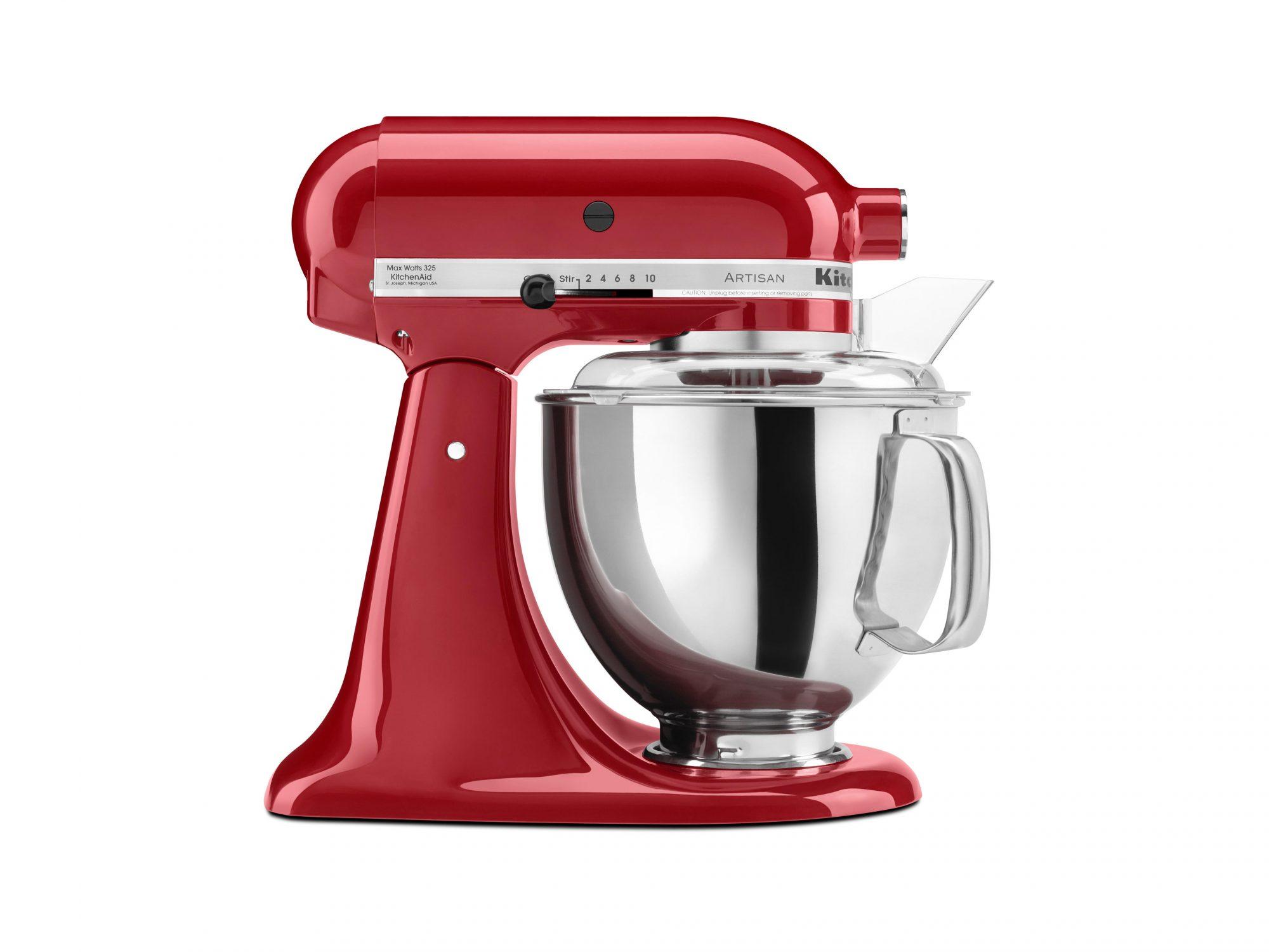 KitchenAid Artisan Series 5-Quart Tilt-Head Stand Mixer, Red