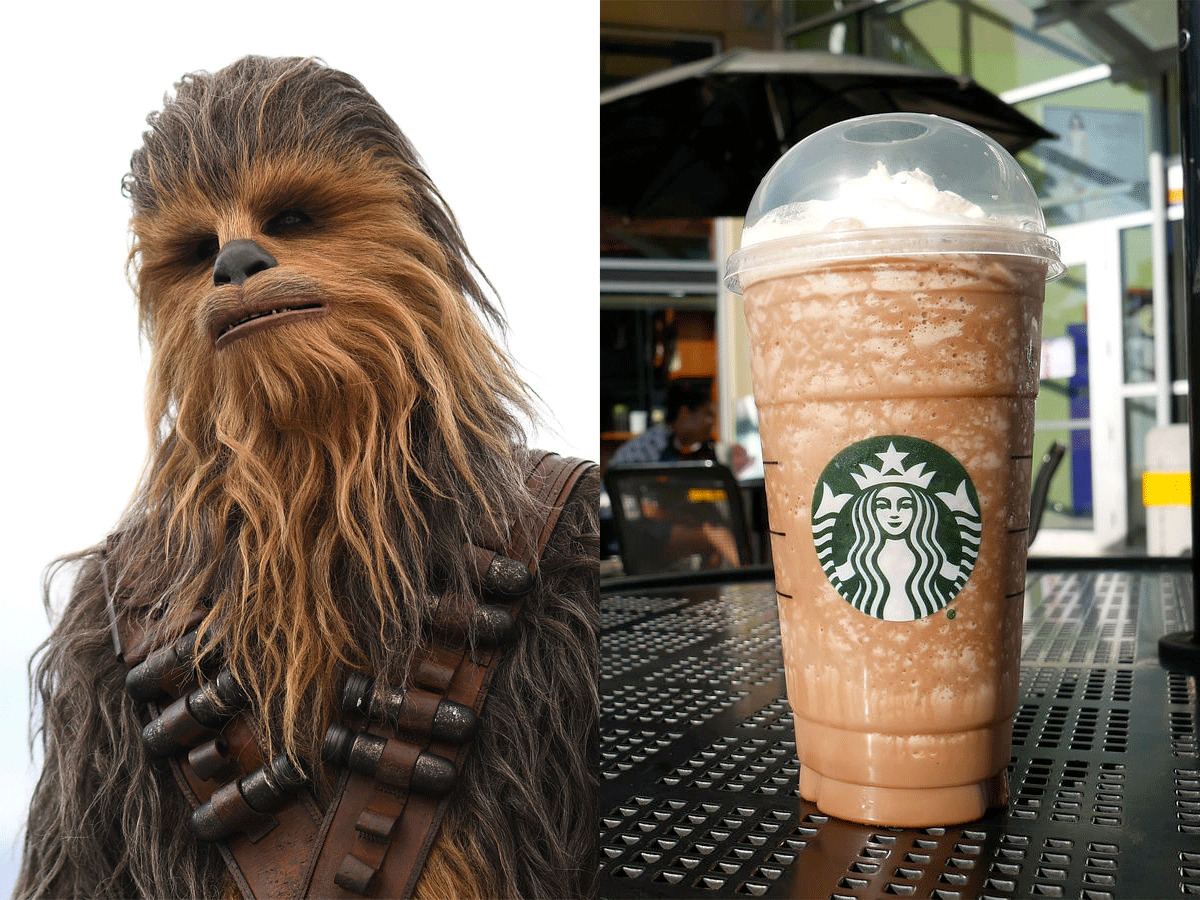 Chewbacca Frappuccino on Secret Menu
