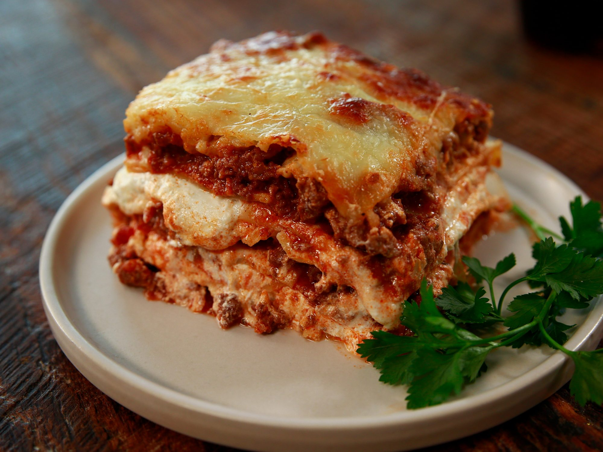 Paris Hilton's Lasagna (as interpreted by Nicole McLaughlin)