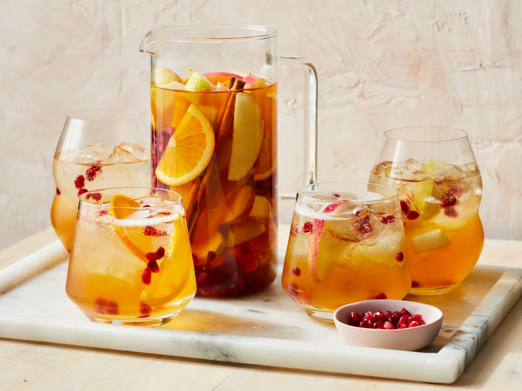 Apple Cider Sangria Recipe   MyRecipes