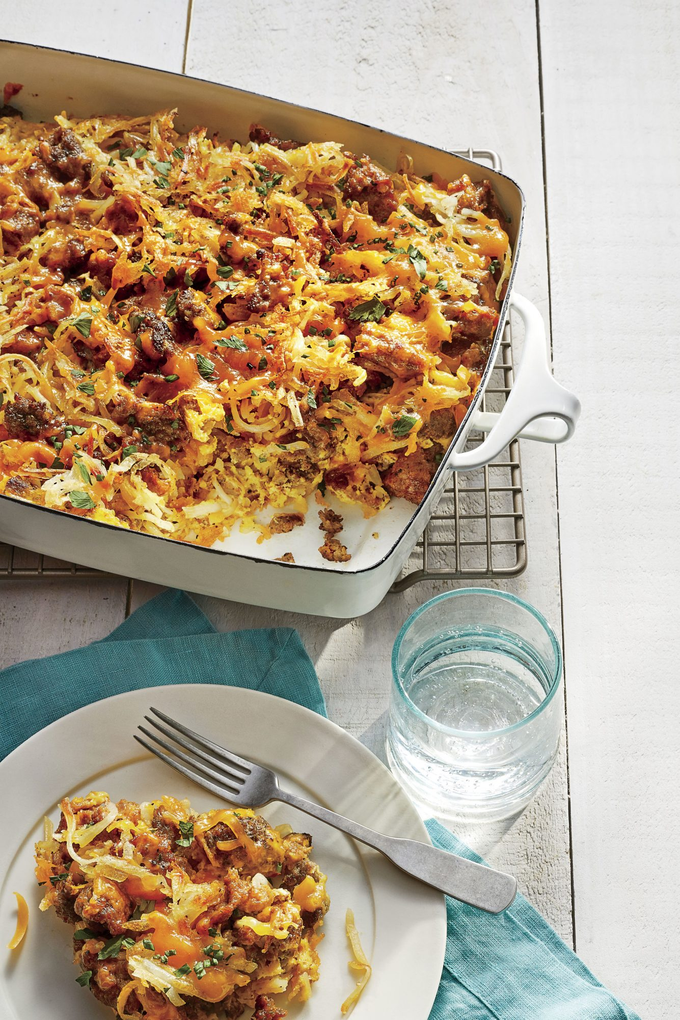 Sausage-Hash Brown Breakfast Casserole Recipe - Southern Living