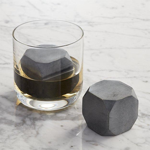<p>Whiskey Rocks Large, Set of 2</p>